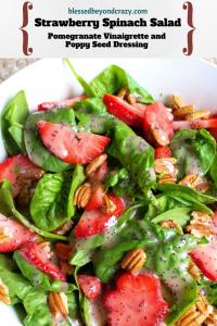 Strawberry Spinach Salad (1)
