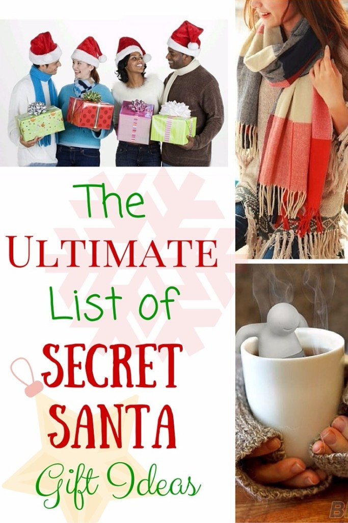 The Ultimate List of Secret Santa Gift Ideas