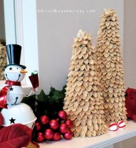 pistachio christmas tree