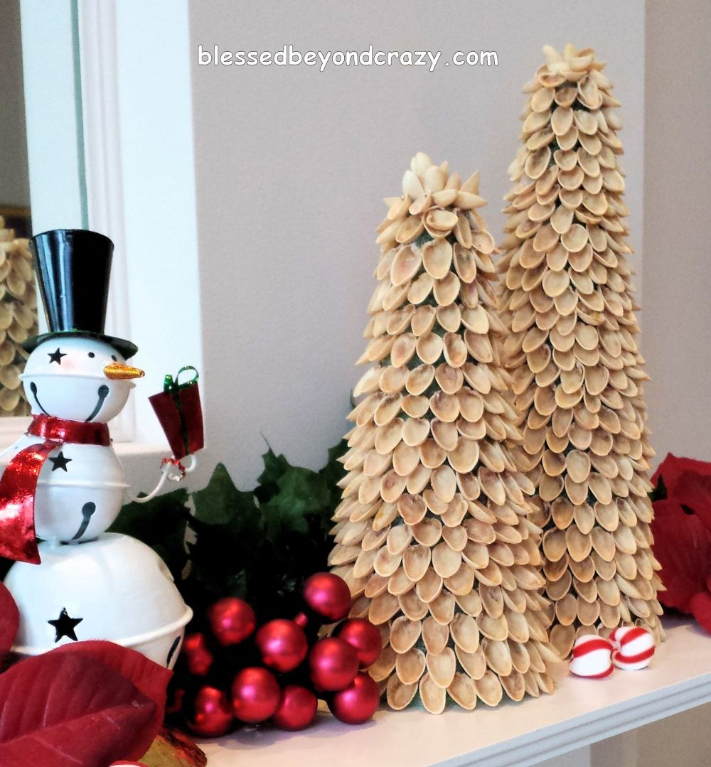 Why Do We Have Christmas Trees For Christmas: DIY Mini Pistachio Christmas Trees