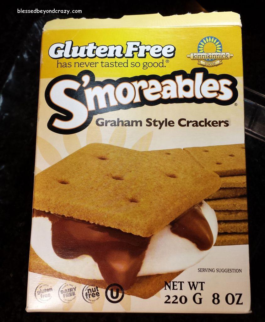 GF Graham Crackers for Heath Bits Cheesecake (GF Option)