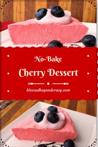 no bake cherry dessert 1