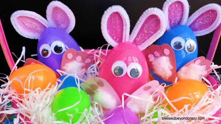 Easter Egg Bunnies 13