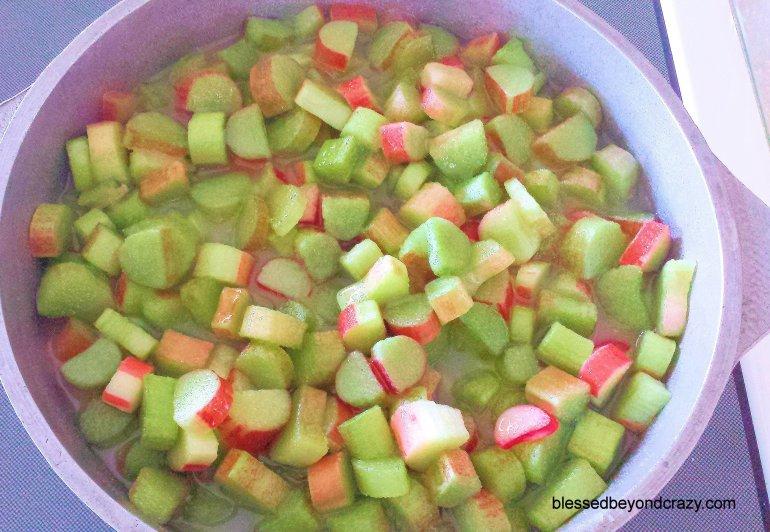 Rhubarb Pineapple Jam 6