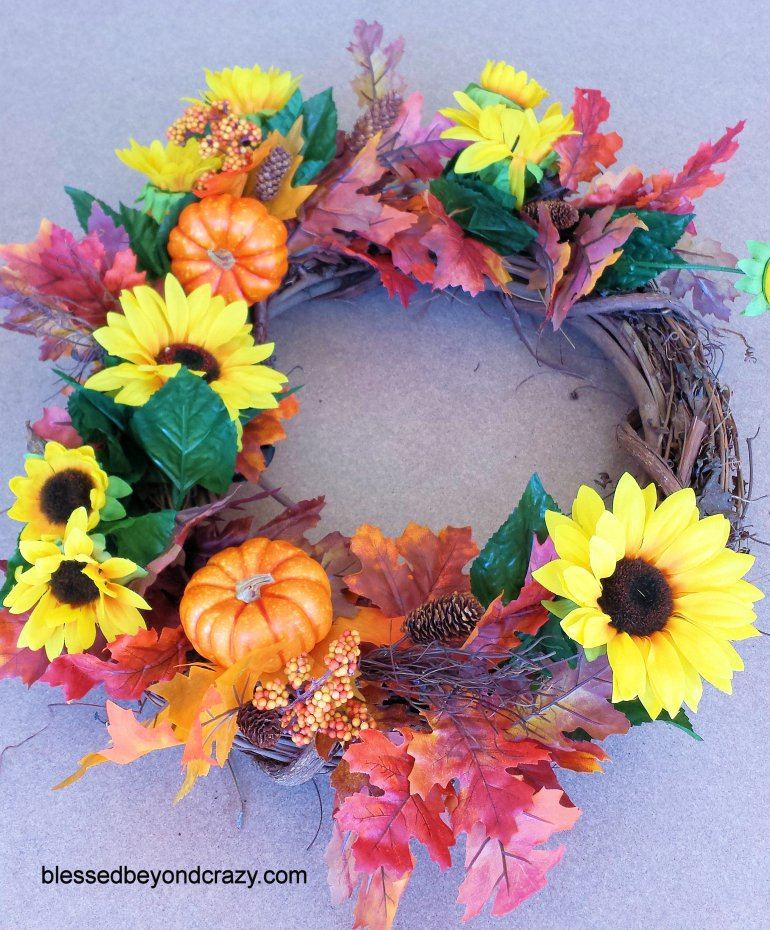 DIY Fall Wreath 6