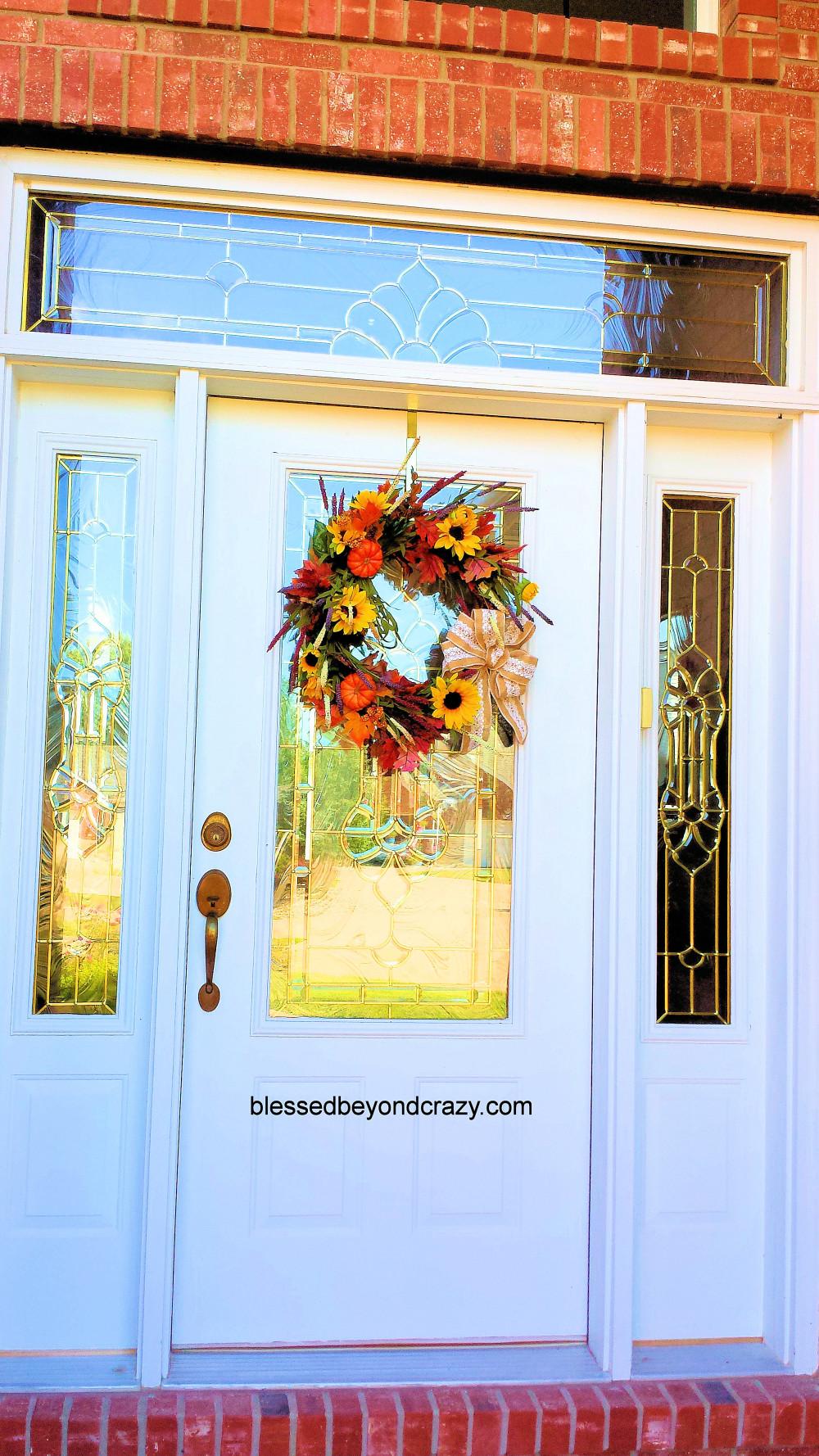 DIY Fall Wreath 12
