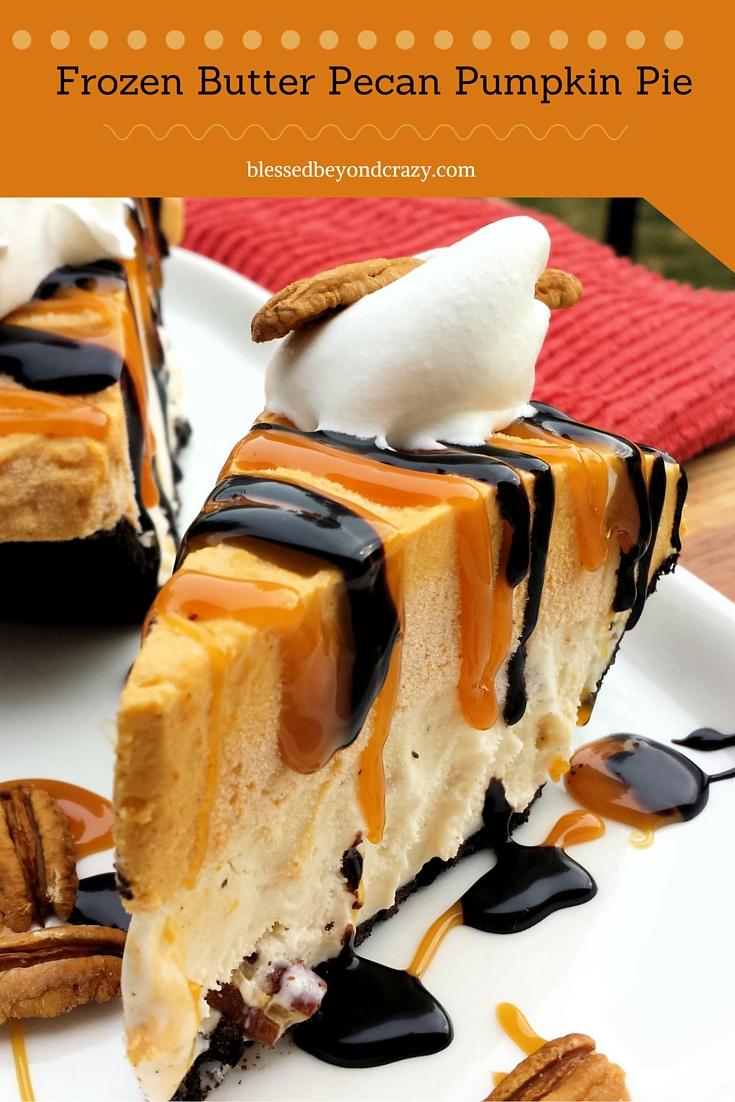Frozen Butter Pecan Pie (2)