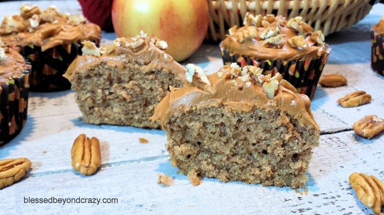 Spiced Applesauce Cupcakes 5