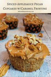 Spiced Applesauce Cupcakes 3