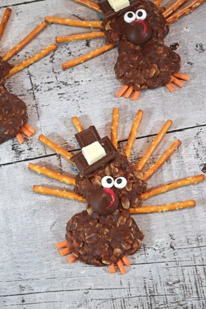 no bake turkey cookie with hat