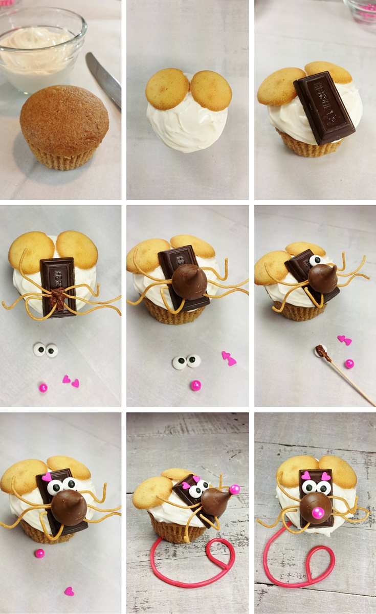 Christmas Mouse Step-by-Step
