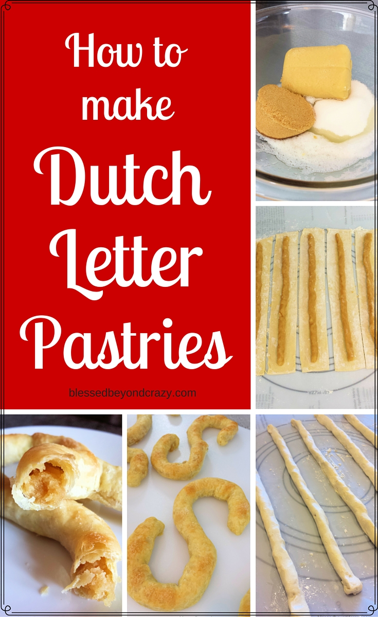 How to make Dutch Letter Pastries