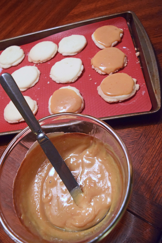caramel cookie gf