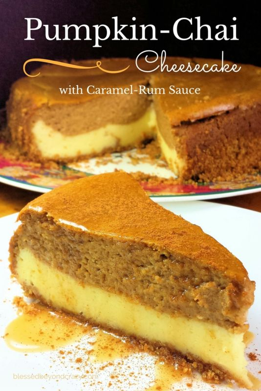 Pumpkin-Chai Cheesecake