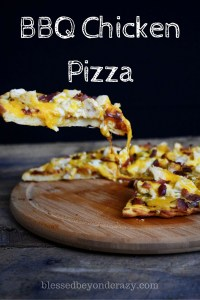 BBQ Chicken Pizza 1