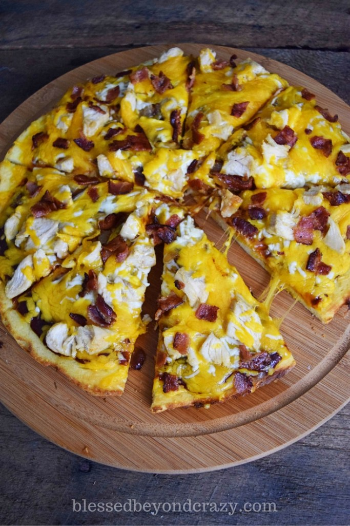 bacon bbq pizza