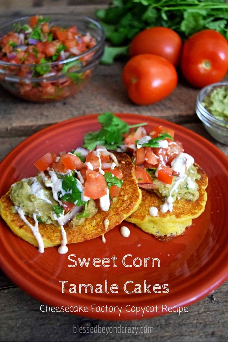 Sweet Corn Tamale Cakes Recipe