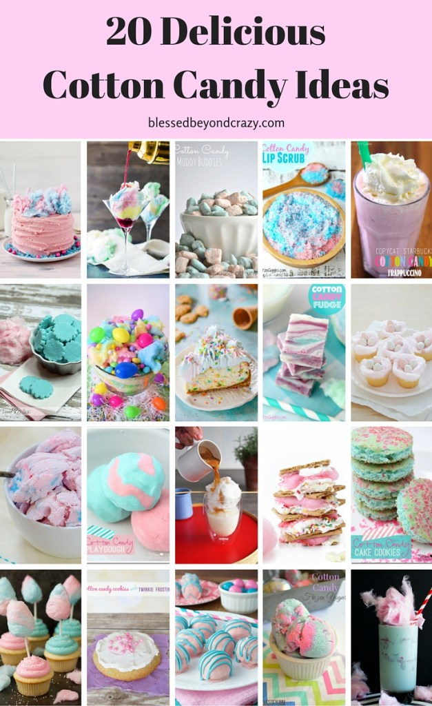 Top 20 Cotton Candy Ideas 5