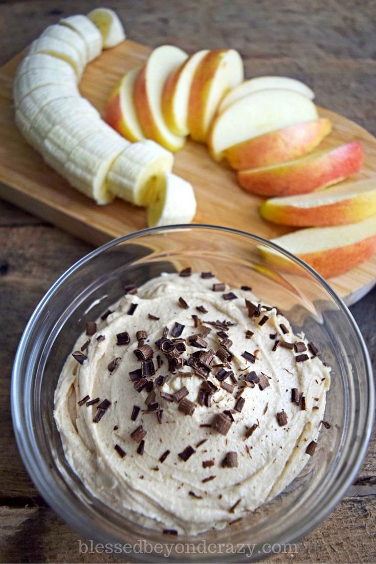 Peanut Butter Dip gluten free appetizer
