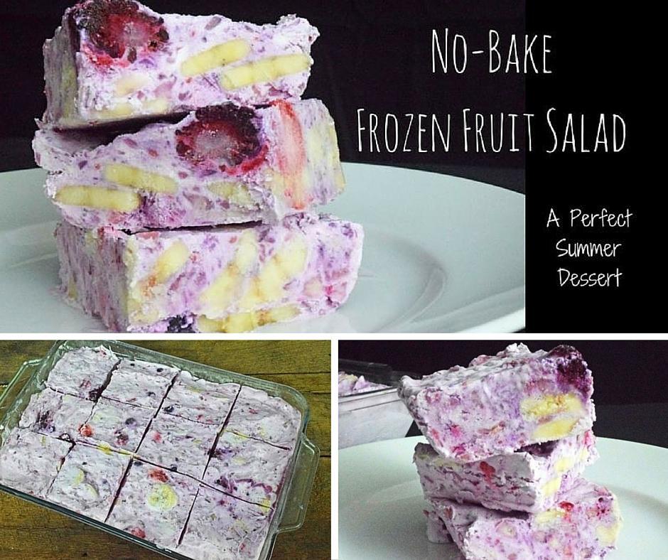 No-Bake Frozen Fruit Salad 1