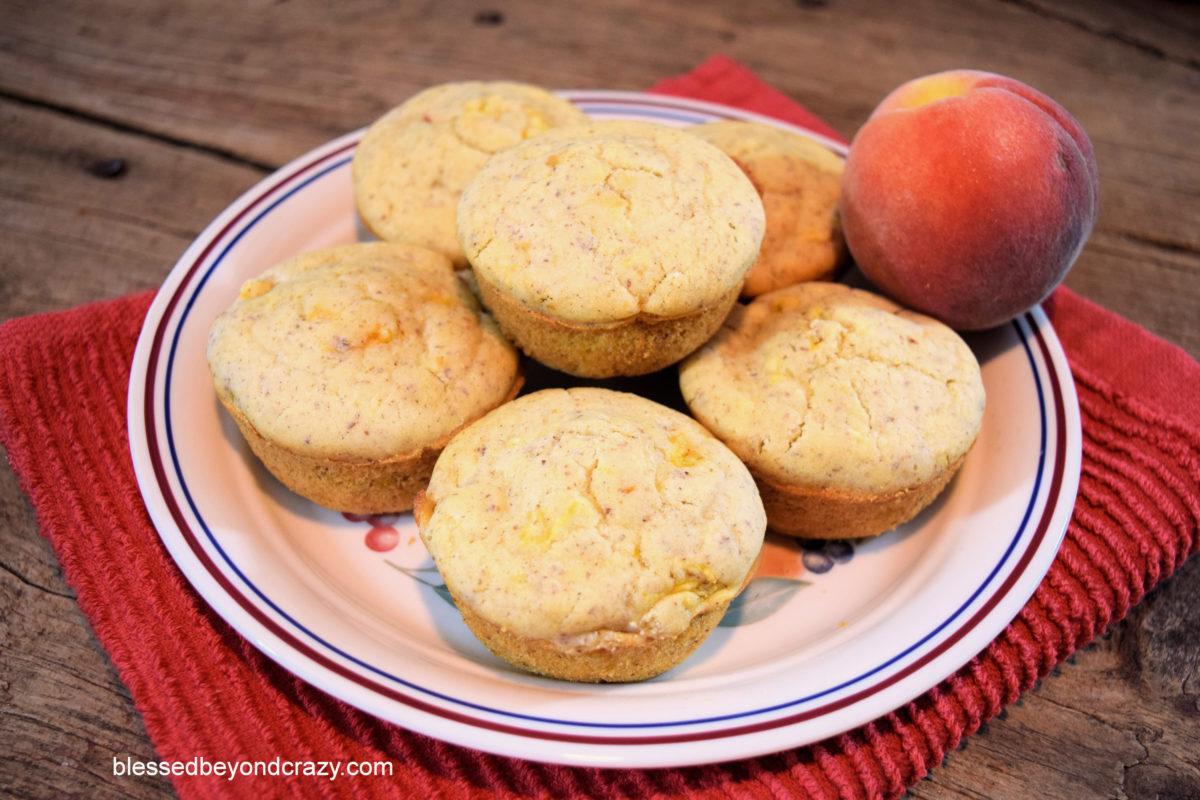 Peachy Peach Muffins GF 2