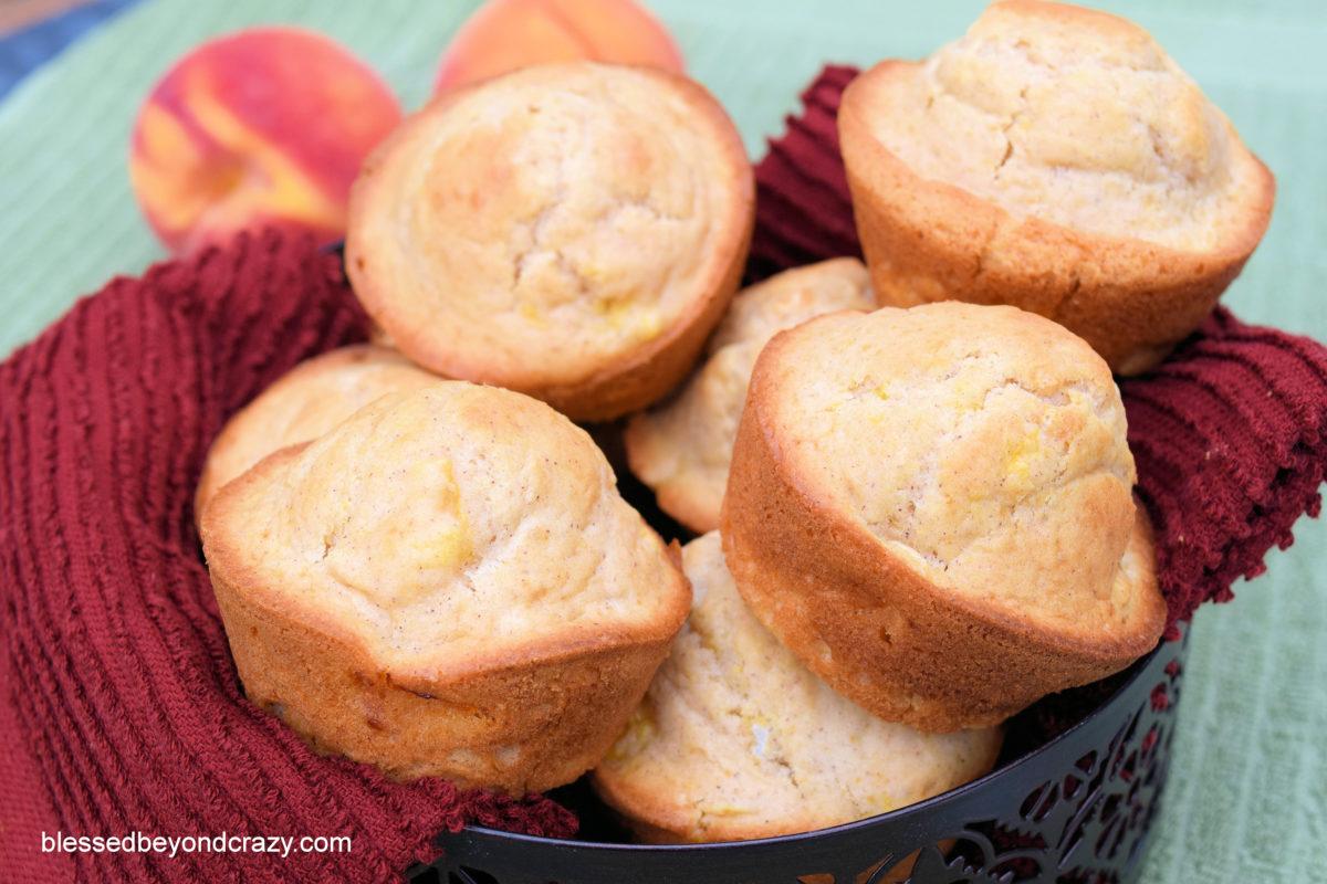 Peachy Peach Muffins 3