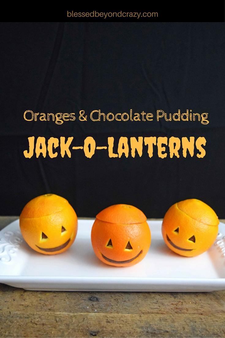 Oranges & Chocolate Pudding