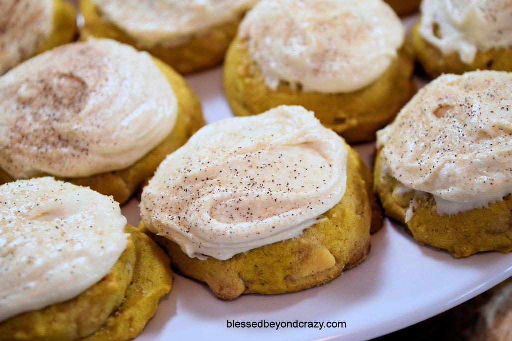 Pumpkin White Chocolate Drop Cookies 6
