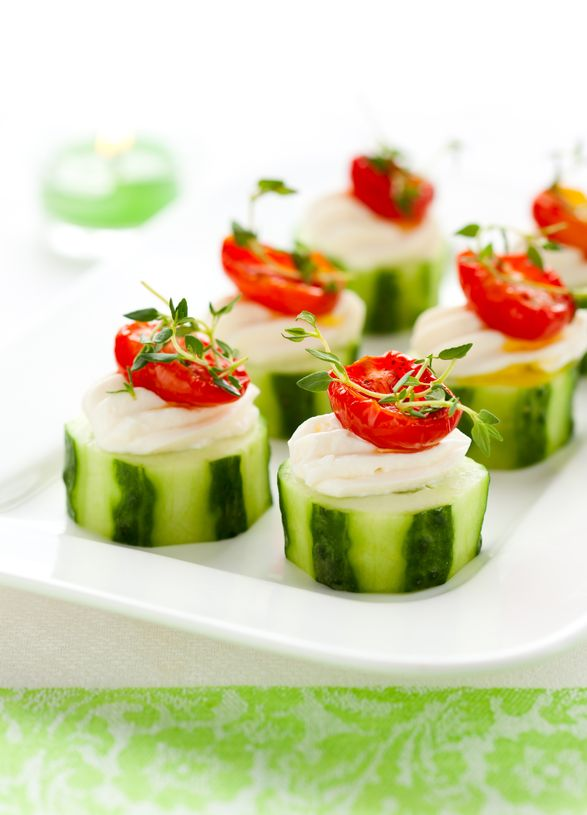 Easy Cucumber Appetizer