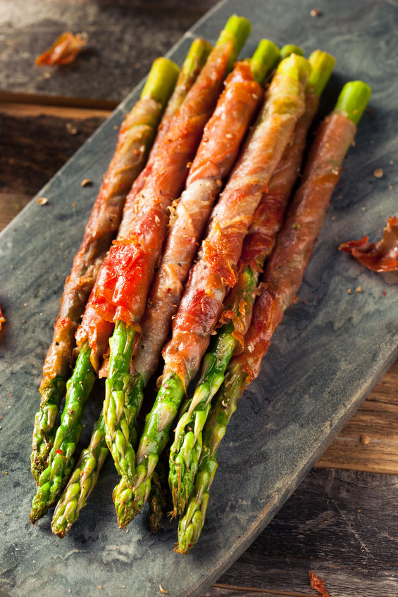 Wrapped Proscuitto Asparagus