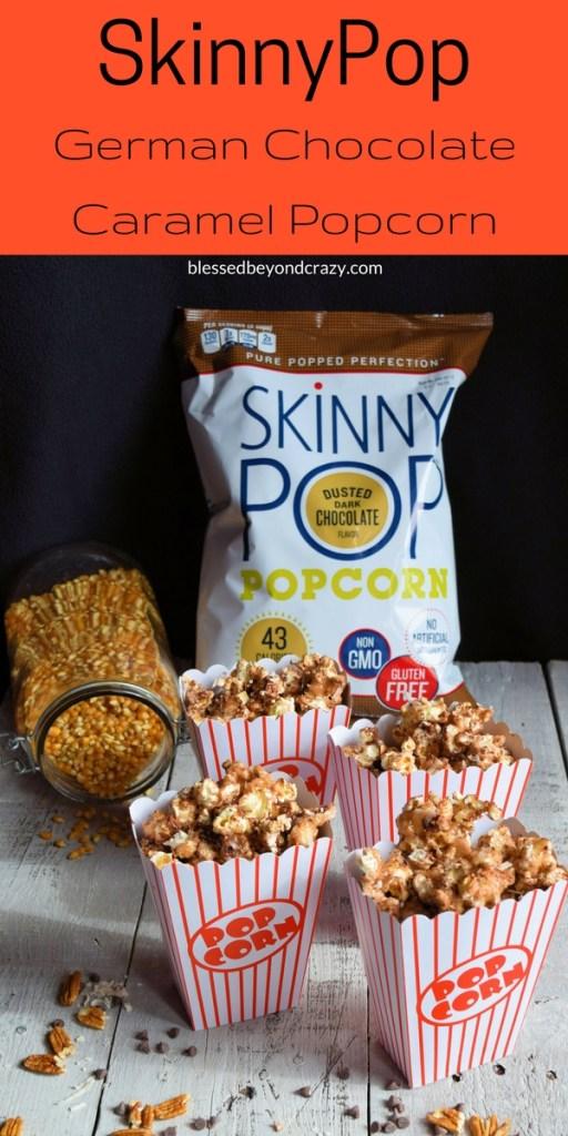 SkinnyPop German Chocolate Caramel Popcorn