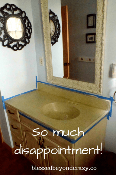 How To Paint A Countertop Dont Make These Mistakes - Can you paint a bathroom sink