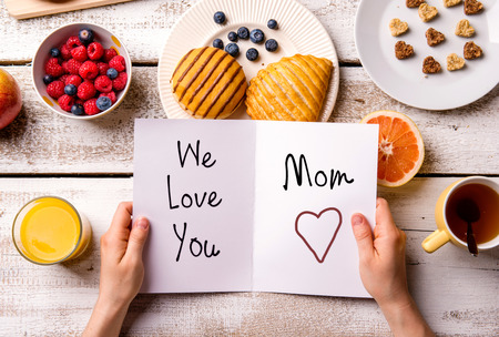 Young Children Seem To Naturally Gravitate Toward Expressing Love Mom Especially On Mothers Day With Just A Little Help And Supervision By An Adult Or