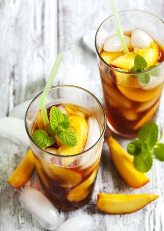 Tasty Homemade Peach Tea Recipe