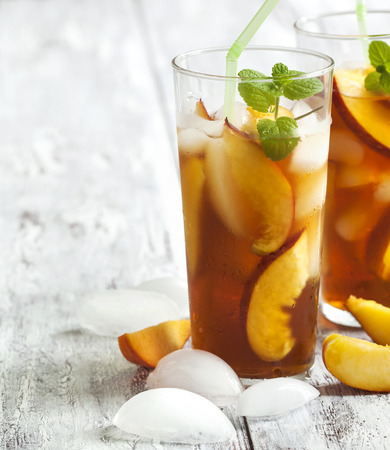 Tasty Homemade Peach Tea Recipe