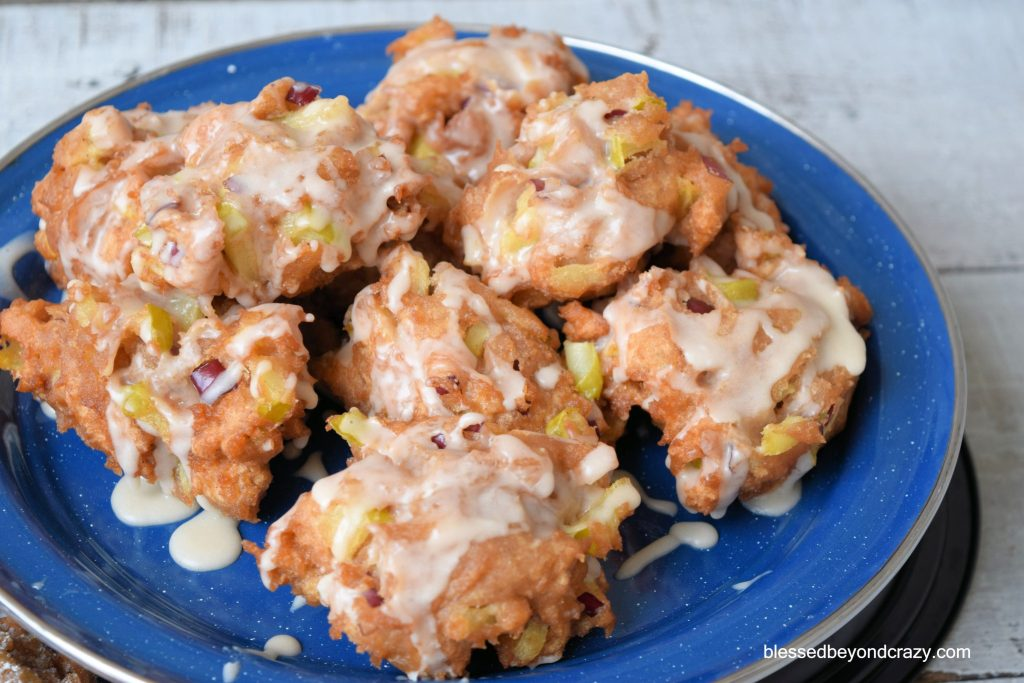 Rustic Apple Pie Fritters