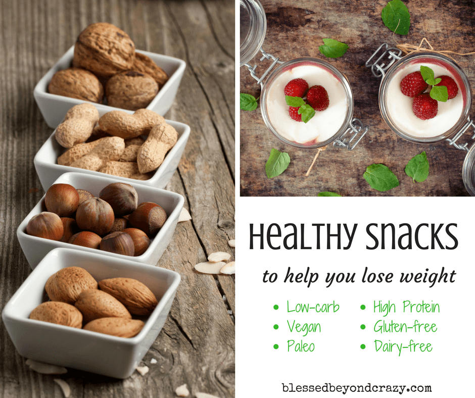 healthy snacks to help you lose weight allergy friendly list
