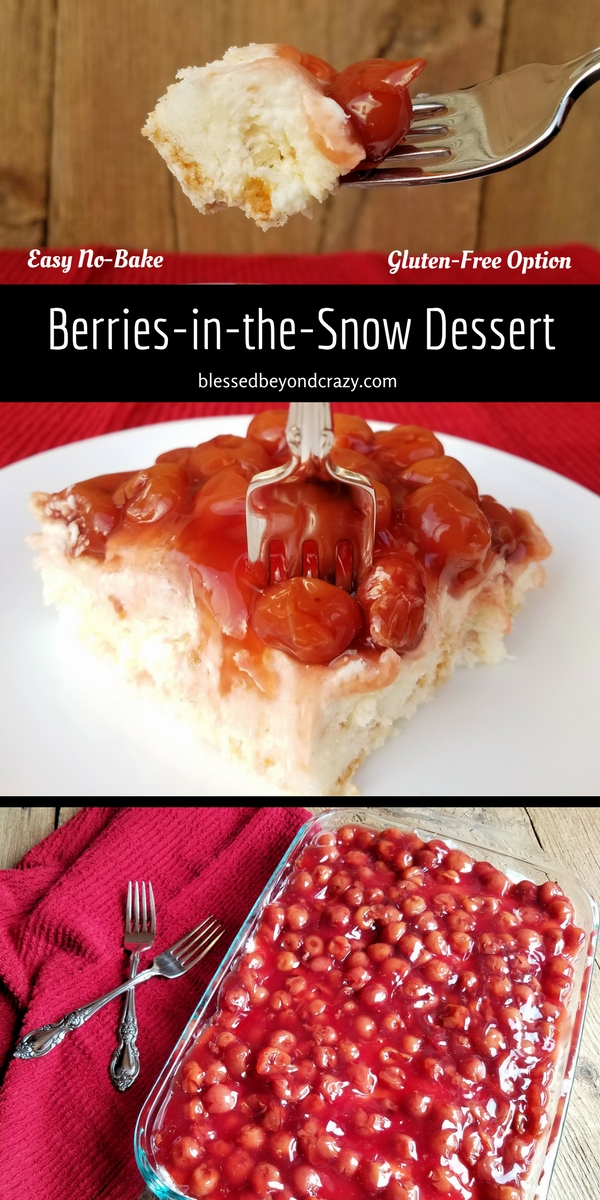 Berries-in-the-Snow Dessert