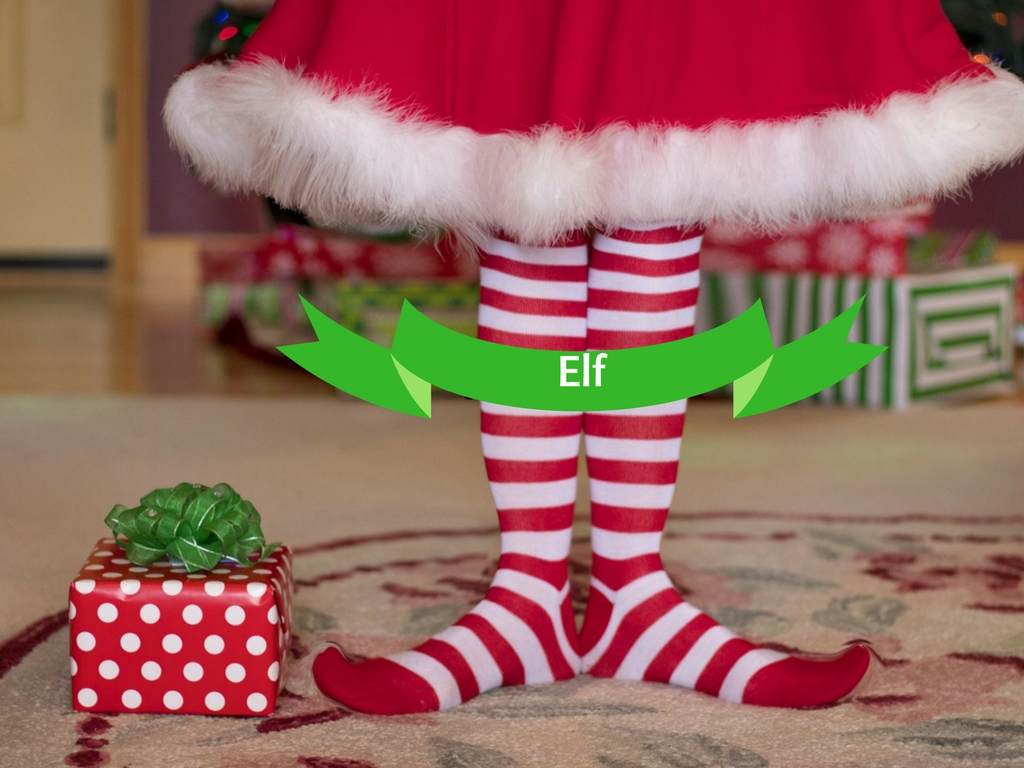 Cotton Headed Ninny Muggins Elf Cookies