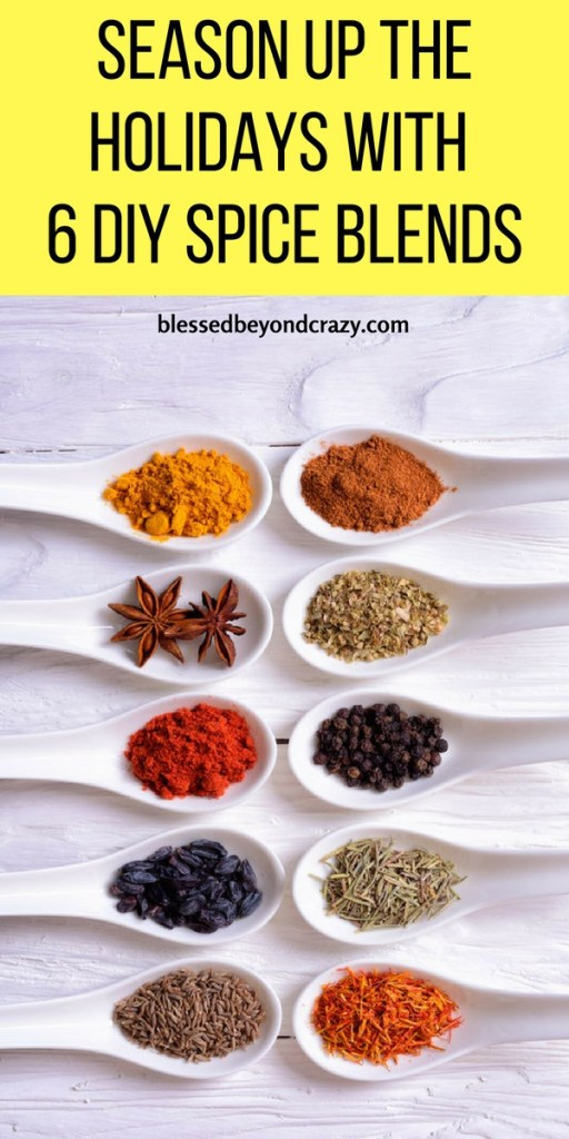 Season Up The Holidays With 6 DIY Spice Blends