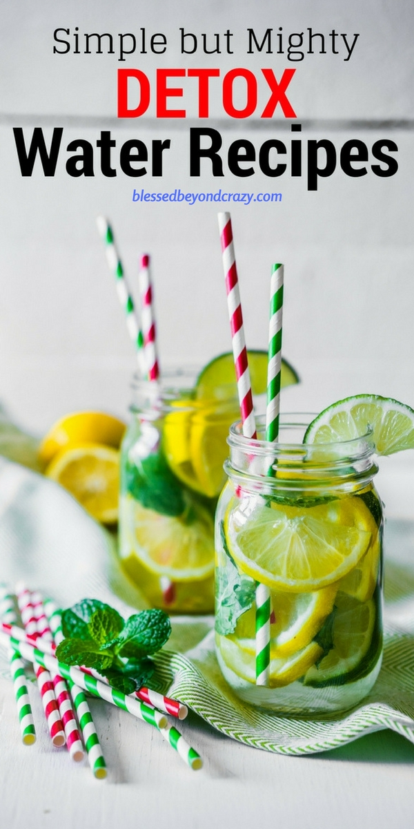 Simple but Mighty Detox Water Recipes