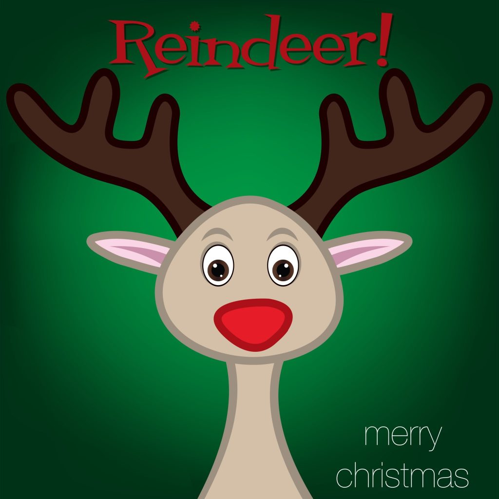 Darling Christmas Reindeer Party Ideas
