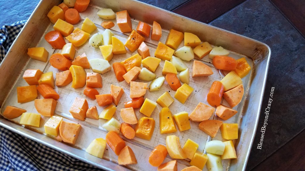 Ready to roast Healthy Sheet Pan Roasted Vegetables