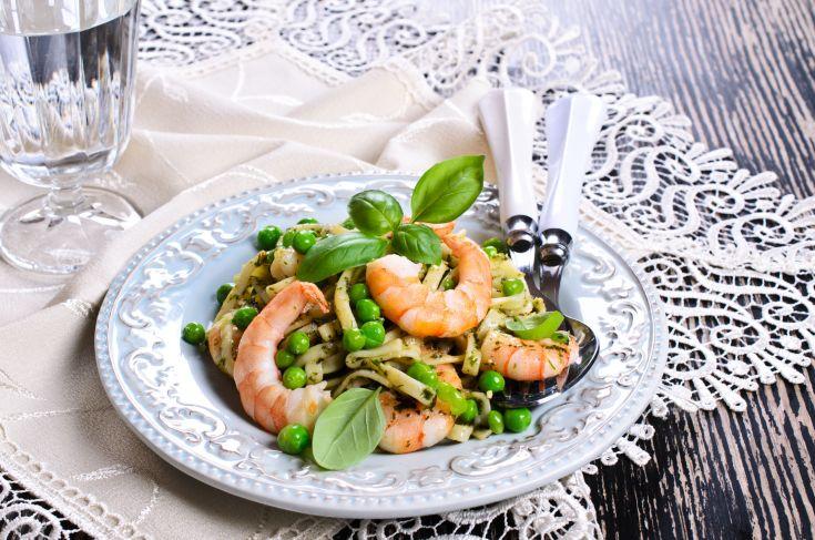 16 Minute Shrimp Pasta Meal