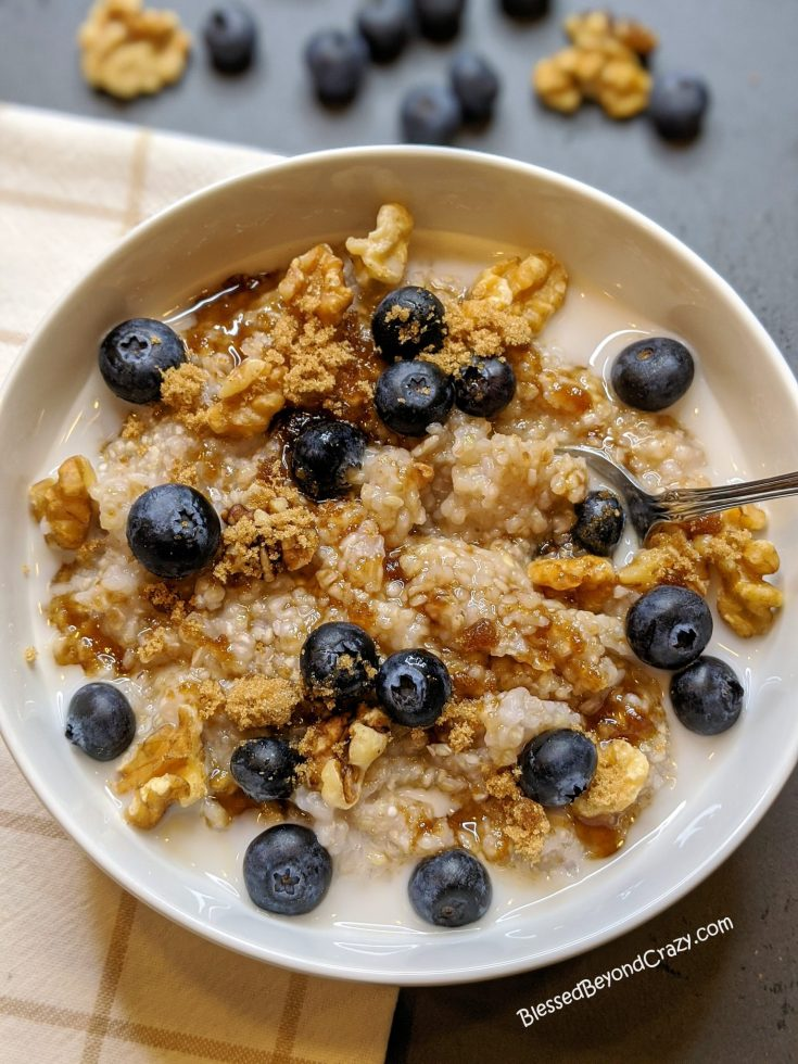 Easy Buckwheat Breakfast Porridge