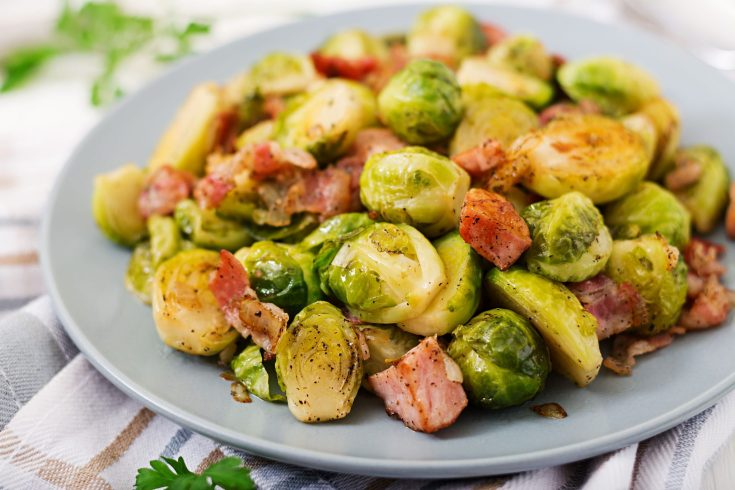 Quick and Easy Pan-Fried Brussel Sprouts