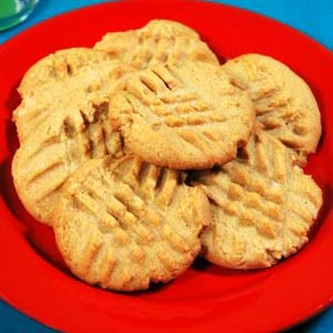 Tasty Thursday: Old Fashioned Peanut Butter Cookies