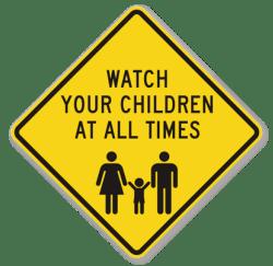Please Keep an Eye on Your Kids!