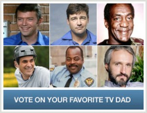 Who Will Be Crowned the World's Greatest TV Dad?