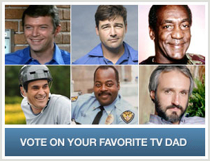 Vote for Your Favorite TV Dad
